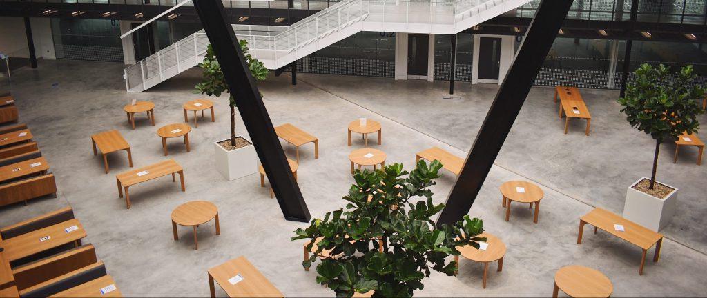 arbeta atrium space